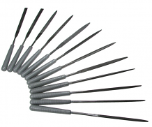 10 PC PRECISION NEEDLE FILE SET