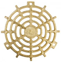 BRONZE REPLACEMENT GRATE 5-1/4