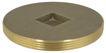 BRASS PLUG - IPS COUNTERSUNK 5""