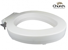 TOILET SEAT - HEAVY DUTY ELONGATED LIFT UNIT - 4""
