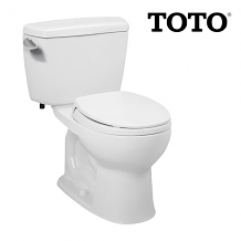1.28 GPF WHITE REG TANK TYPE TOILET