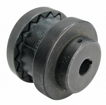 1/2 x 1/2 COMPLETE #3 COUPLER W/RUBBER INSERT
