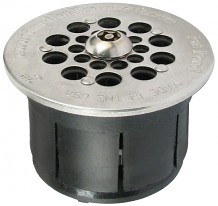 GUARDIAN STRAINER & DRAIN LOCK 2""