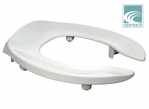TOILET SEAT - ROUND FRONT HEAVY DUTY LIFT SEAT - 2""