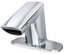 LOW PROFILE BASYS FAUCET W/ BASE - 0.5 GPM