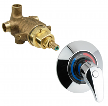 SHOWER & TUB PRESSURE BALANCED VALVE