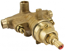 SHOWER & TUB PRESSURE BALANCED VALVE W/STOPS