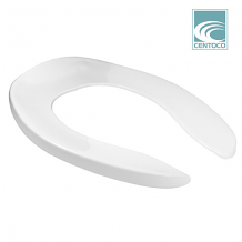 TOILET SEAT - ELONGATED ANTIMICROBIAL (WHITE)