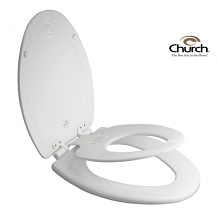 TOILET SEAT - NEXTSTEP® BUILT-IN POTTY SEAT™ (WHITE ELONGATED)