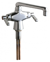"BAR SINK FAUCET W/ 6"" SPOUT"