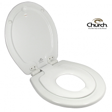 TOILET SEAT - NEXTSTEP® BUILT-IN POTTY SEAT™ (WHITE ROUND)