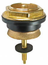 "SPUD ASSEMBLY URINAL - BRASS - 1-1/4"" W/ FLOW CONTROL"