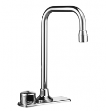 "OPTIMA ON-Q FAUCET W/ PLUG-IN TRANSFORMER 4"" CENTER - 2.2 GPM"