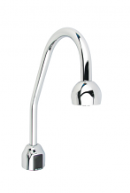 OPTIMA PLUS GOOSENECK FAUCET W/ SURGICAL BEND SPOUT LESS TRIM PLATE - 2.2 GPM