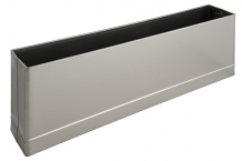 "S/S PILASTER SHOE F/ SQ EDGE 10"" X 1-1/4"""