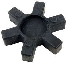 RUBBER INSERT FOR PUMP COUPLER