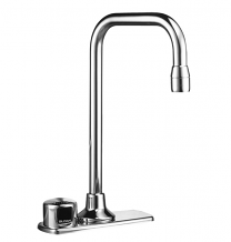 "OPTIMA ON-Q FAUCET W/ BOX TRANSFORMER 4"" CENTER - 2.2 GPM"