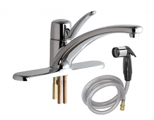 SINGLE CONTROL FAUCET W/SPRAY