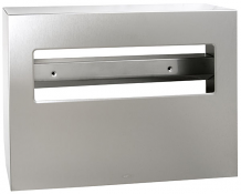 TOILET SEAT COVER DISPENSER STAINLESS STEEL