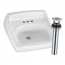 WALL MT SINK & GRID DRAIN PACKAGE