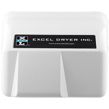 WHITE AUTOMATIC HAND DRYER 110/120V