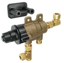"3/8"" COMP THERMOSTATIC M/V 4 PORT"
