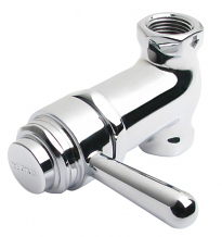SELF CLOSING VALVE W/ LEVER HANDLE CP 1/2""