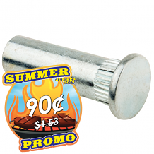 "1/4-20 X 1-3/8"" ALUM SLEEVE BOLTS"