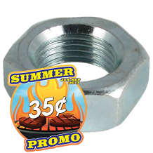 BUBBLER JAM HEX NUT