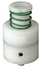 CARTRIDGE W/GREEN SPRING - PLASTIC