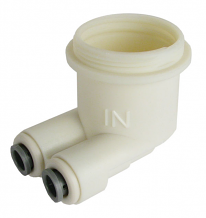 REGULATOR HOLDER FOR FOUNTAIN