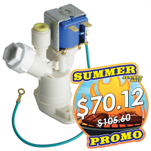 SOLENOID VALVE REGULATOR ASSEMBLY FOR WATER COOLER WITH CARTRIDGE