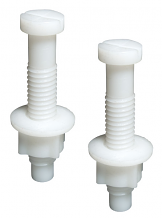 NYLON TOILET SEAT HINGE BOLT SET