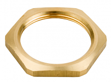 REGULATOR HOUSING HEX NUT (BRASS)