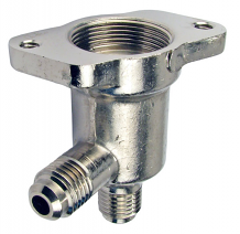 BODY VALVE, NICKEL PLATED