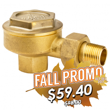 """1/2"""" ANGLED STEAM TRAP-LOW PRESSURE"""