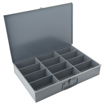 LGE 12 COMP STEEL STORAGE CASE