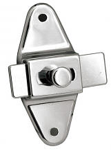 "SLIDE LATCH W/ SCREWS-3-1/2"" CC"