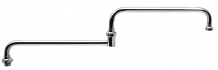 """COMM DOUBLE JOINTED SPOUT 24"""""""