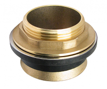 SPUD ASSEMBLY - BRASS - 1-1/2""