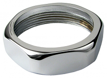 HANDLE - NUT (CHROME)