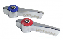 ANTIMICROBIAL HANDLES FOR T & S AND CHG
