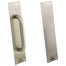"ANTIMICROBIAL PULL/PUSH PLATE 4"" x 16"" x 1"""