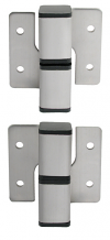 PARTITION HINGE SET SURFACE MT-RH INSW