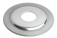 CHROME PLATED FLAT ESCUTCHEON