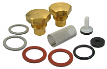 REPAIR KIT FOR STRAINER/CHECK VALVE