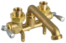 CAST BRASS LAUNDRY TRAY FAUCET