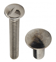 TWO PC ONE WAY SEX BOLT 1-1/4""