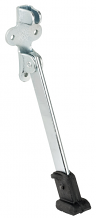 "6"" ZINC PLATED HEAVY DOOR STOP"