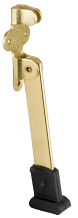 "5"" BRASS PLATED HEAVY DOOR STOP"